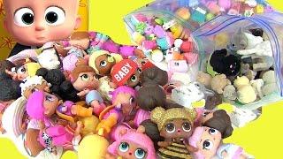 БОСС МОЛОКОСОС 2017 МУЛЬТФИЛЬМ. Игрушки Лол Baby Dolls Шопкинс #Мультики #Пупсики
