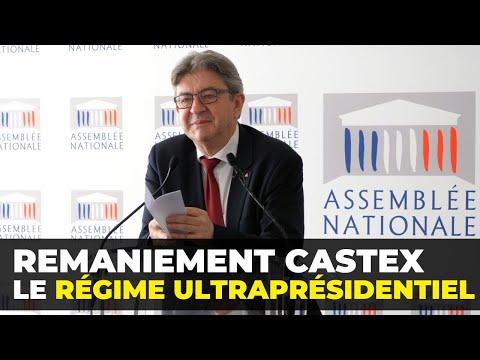 Remaniement Castex : le régime ultraprésidentiel - Conférence de presse de Jean-Luc Mélenchon