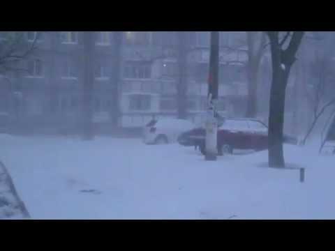 Очень сильный снег , ПРОСТО ЖЕСТЬ  !!!!  | Cамый сильный снегопад в 21 веке  !!!!