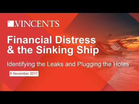 Financial Distress & the Sinking Ship
