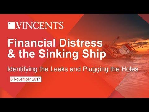Financial Distress & the Sinking Ship