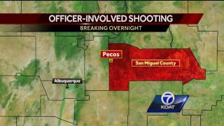 Police Activity in Pecos