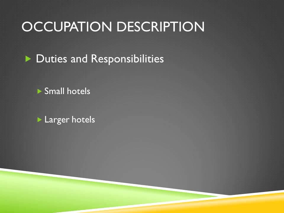 Hotel management presentation youtube toneelgroepblik Image collections