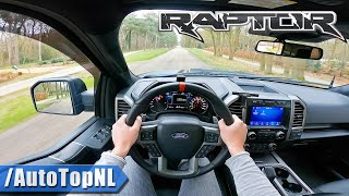 FORD F150 RAPTOR 3.5 V6 BiTurbo *LOUD* POV Test Drive by AutoTopNL
