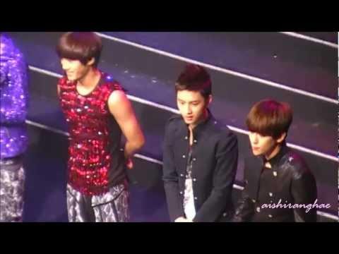 [HD FANCAM] 120623 EXO K Talk @ London MBC Korean Cultural Festival