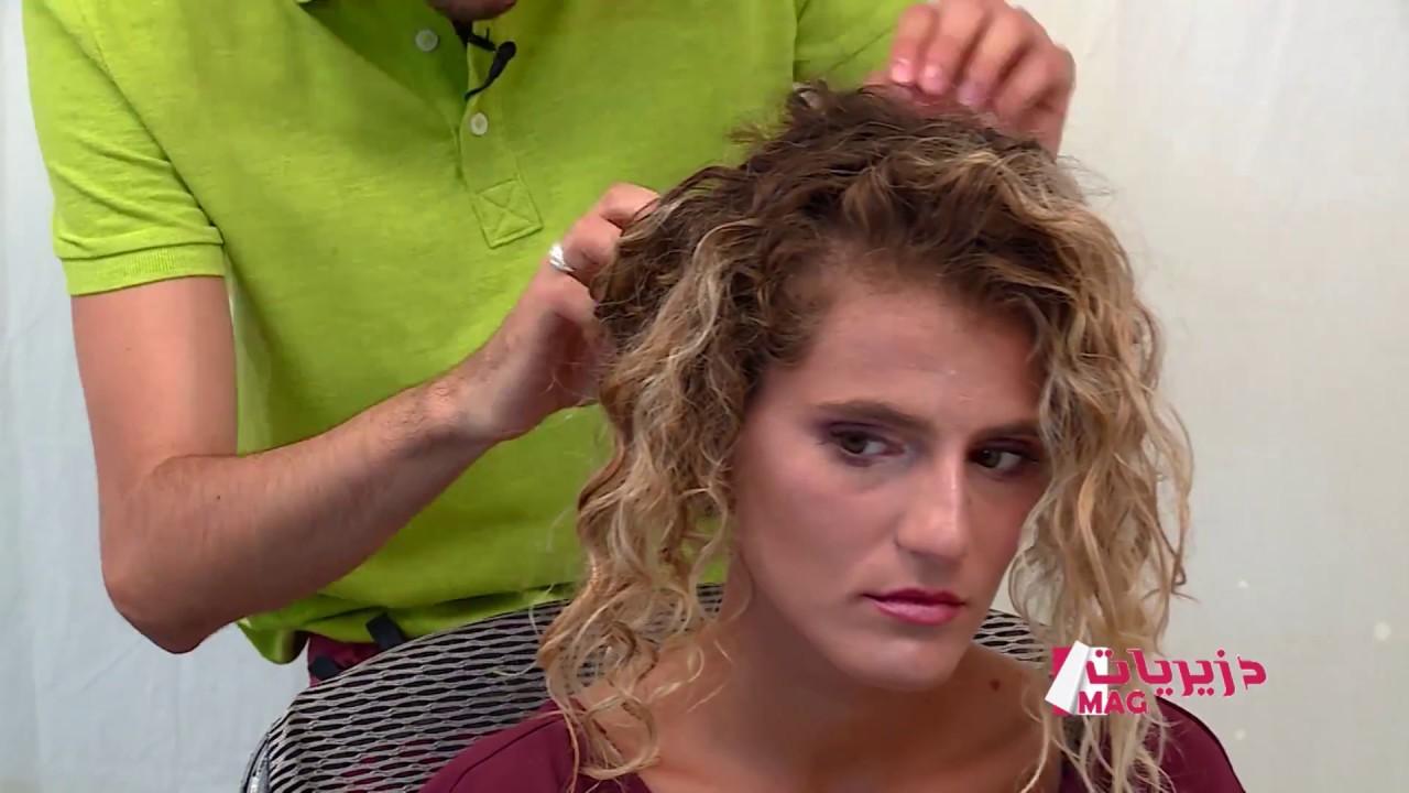DZERIET MAG Astuce coiffure Chignon coiffé décoiffé avec Yeles - YouTube