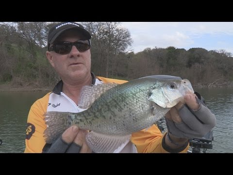 FOX Sports Outdoors SOUTHWEST #6 - 2015 Lake Waco Texas Crappie Fishing