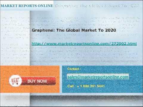 Global Graphene Market  Analysis & 2020 Forecasts at MarketReportsOnline.com