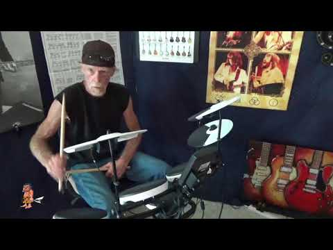 ROLAND TD-1K Electronic Drum Kit DEMO No. 2  - Featuring Our New Drummer Mr. Red