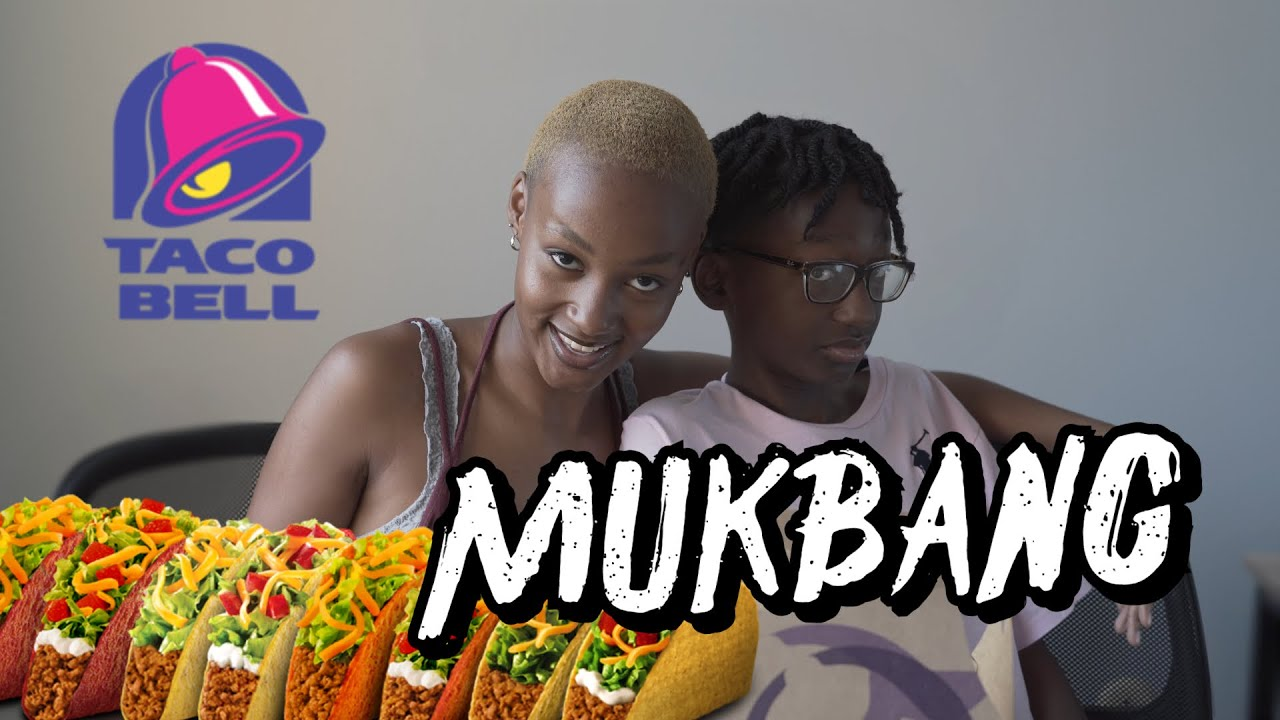 TACO BELL MUKBANG w/ my brother