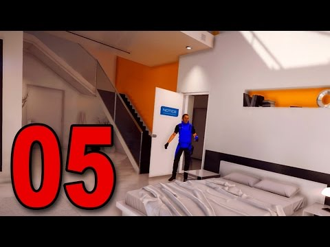 Climbing one of the tallest buildings in mirror 39 s edge for Mirror gameplay walkthrough