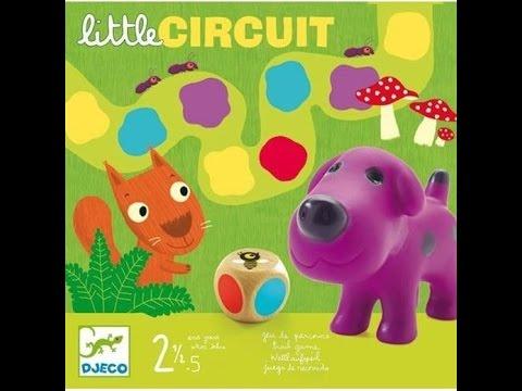 Test Little Circuit - Jeu de société 2 ans 1/2 DJECO - démo - YouTube