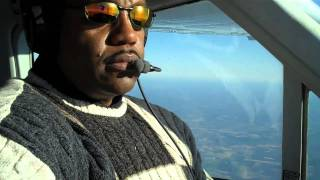 Cessna Cardinal 177RG Cruise Flight over North Carolina