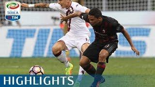 Milan - Torino 3-2 - Highlights - Matchday 1 - Serie A TIM 2016/17