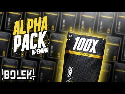 SO viel BLACK ICE - Unglaublich ! | 100 Alpha Pack Opening | Rainbow Six: Siege