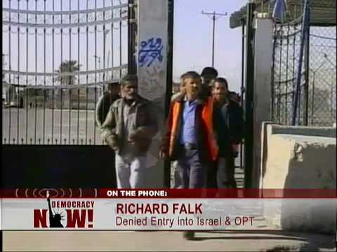 Richard Falk Discuesses His Deportation From Israel And The Conditions There On Democracy Now (1 Of 2)