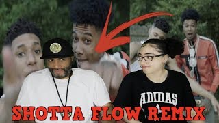 MY DAD REACTS TO NLE Choppa - Shotta Flow Remix ft. Blueface (Dir. by @_ColeBennett_) REACTION