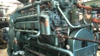 Moteur V16 MGO SACM 2