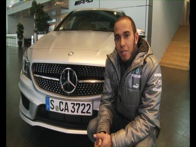 Lewis Hamilton: Mercedes CLA