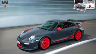 видео Спортивный автомобиль 2010 Porsche 911 GT3 RS