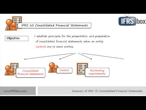 IFRS 10 Consolidated Financial Statements - IFRSbox - Making