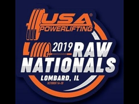 USA Powerlifting Raw Nationals - Platform 2 - Thursday