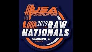 USA Powerlifting Raw Nationals - Platform 2 - Thursday