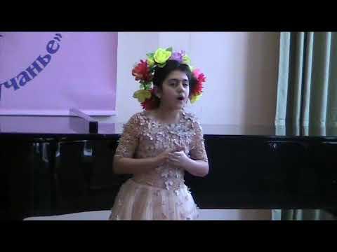 Моцарт Фиалка. Поёт Алина Дарбинян Mozart. Das Veilchen. Alina Darbinyan