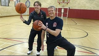 Baker vs. Healy in a friendly game of Horse