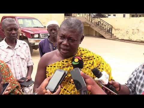 Nana Obeng Darko not happy about abandonement, neglect of Kumawu District hospital ;