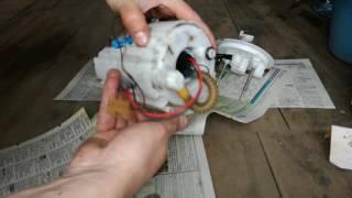 Замена топливного фильтра Киа Рио III