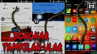 Video RAHASIA Menampilkan Animasi/Gambar ULAR di Android 100%Work download MP3, 3GP, MP4, WEBM, AVI, FLV Agustus 2018