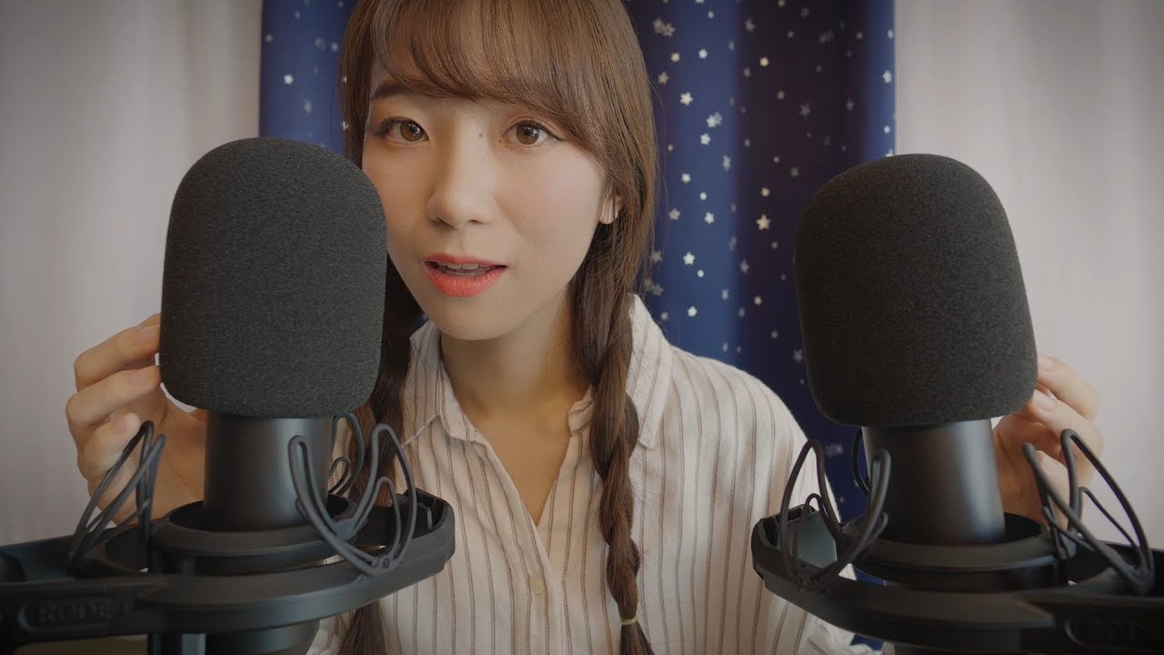 ASMR Whispers in Different Languages (Eng Sub)