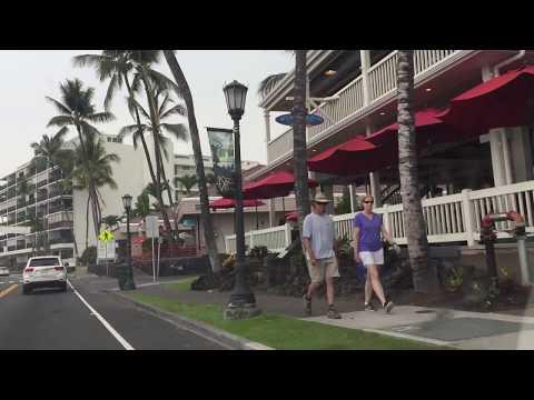 Vog In Kona, The Big Island Of Hawaii