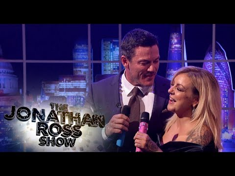 Luke Evans And Sheridan Smith Sing Islands In The Stream - The Jonathan Ross Show