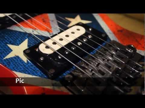 Prueba DR Strings (DDT .10) Con Pickups LF Custom Guitars (Humbuckers) (HD)