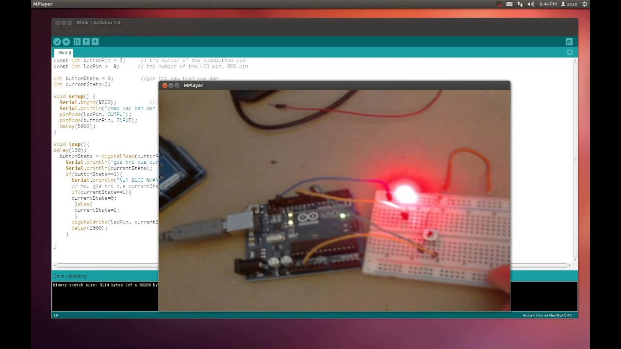 Arduino Tutorial - Lesson 1 - Let there be blink!