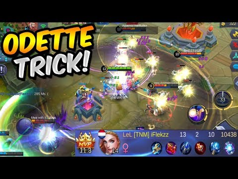 YOU WILL PLAY ODETTE AFTER SEEING THIS TRICK (MUST WATCH!) - MOBILE LEGENDS