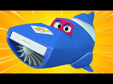 Truck videos for kids -  The ROCKET TRUCK - Super Truck in Car City !