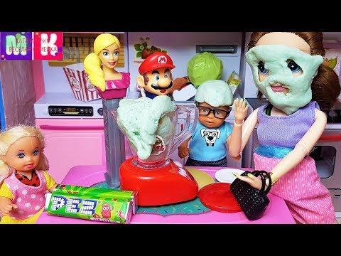 КОНФЕТНЫЙ ВЗРЫВ! КАТЯ И МАКС ВЕСЕЛАЯ СЕМЕЙКА #Мультики с куклами #Барби новые #киндеры игрушки