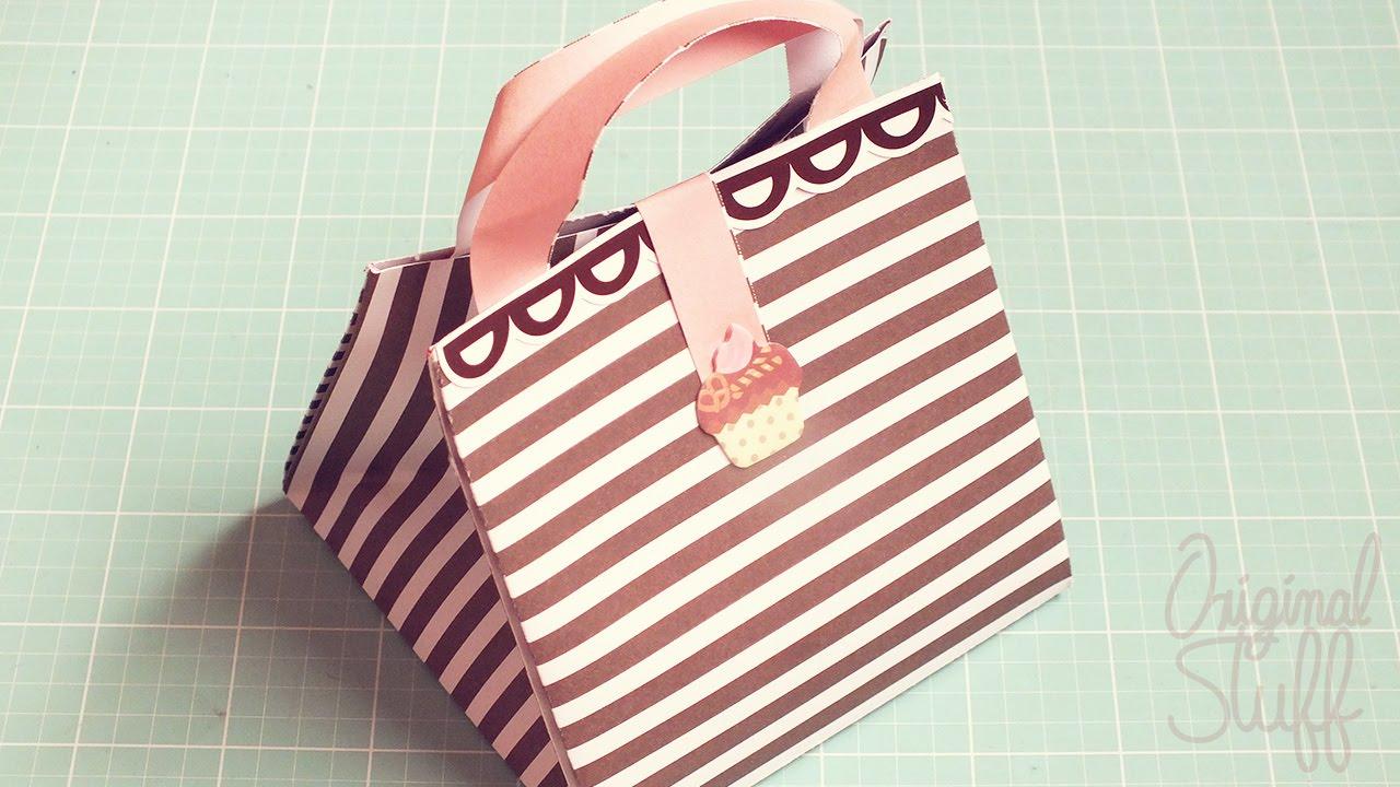 Caja de regalo f cil d diy original stuff youtube - Paquetes originales para regalos ...