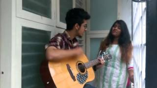 """Love yourself"" cover by Malvika and  sachin"