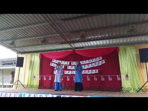 Negaraku Faizal Tahir cover Anastasia dan Bibi Nuraliyah SMK Kanibungan