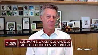 Cushman & Wakefield unveils 'six feet office' design concept