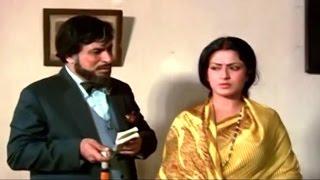 Mithun Chakraborty Insulting Kader Khan @ Ghar Ek Mandir - Shashi Kapoor, Moushumi, Mithun