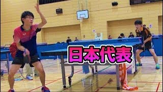【全国ろうあ3位】灘光 晋太郎VSぐっちぃ【卓球知恵袋】Table Tennis