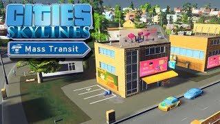 Крупный поселок, зарождение коммерции | Cities Skylines Mass Transit #2