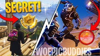 Fortnite Week 5 SECRET Star Location! How To Get 10 Free Stars! (Week 5 Blockbuster Challenge)