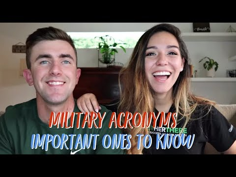 MILITARY ACRONYMS | IMPORTANT ONES TO KNOW