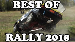 Best of 2018 | Crashes & action!